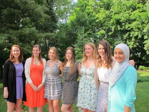 photo of 2014 scholarship recipients