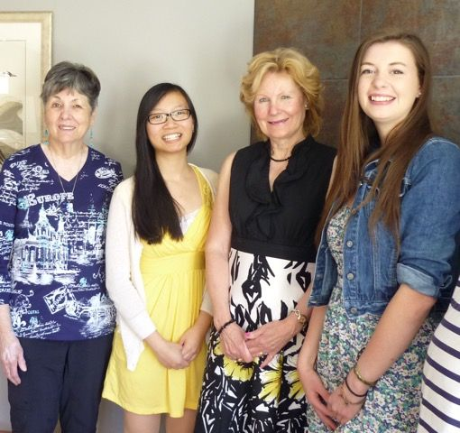 photo of 2015 scholarship recipients